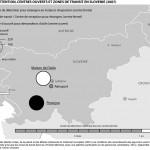 Camps de détention, centres ouverts et zones de transit en Slovénie