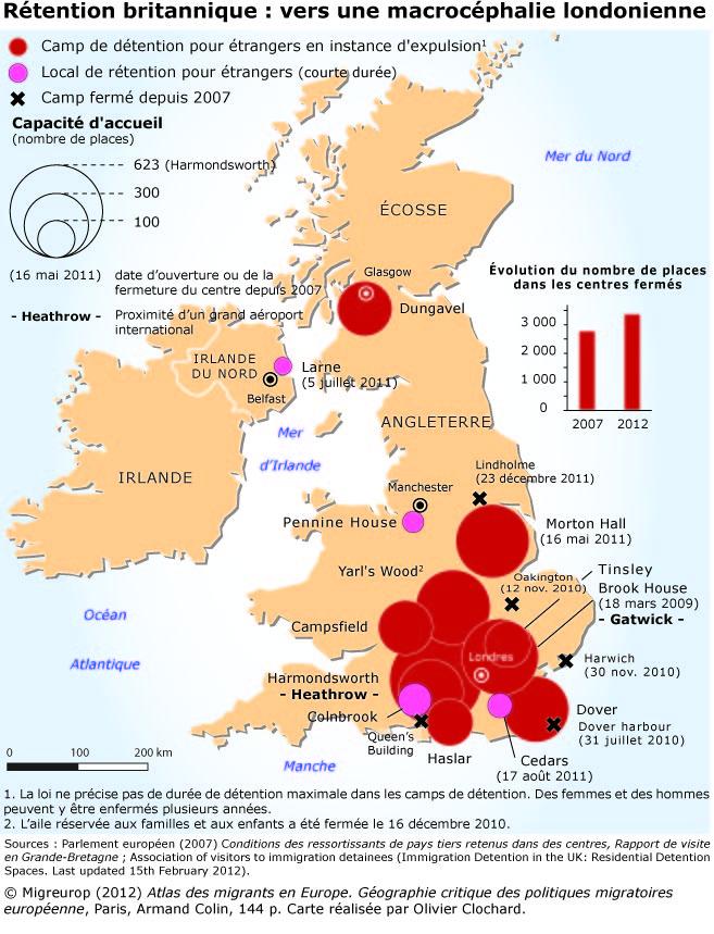 Rétention britannique: vers une macrocéphalie londonienne