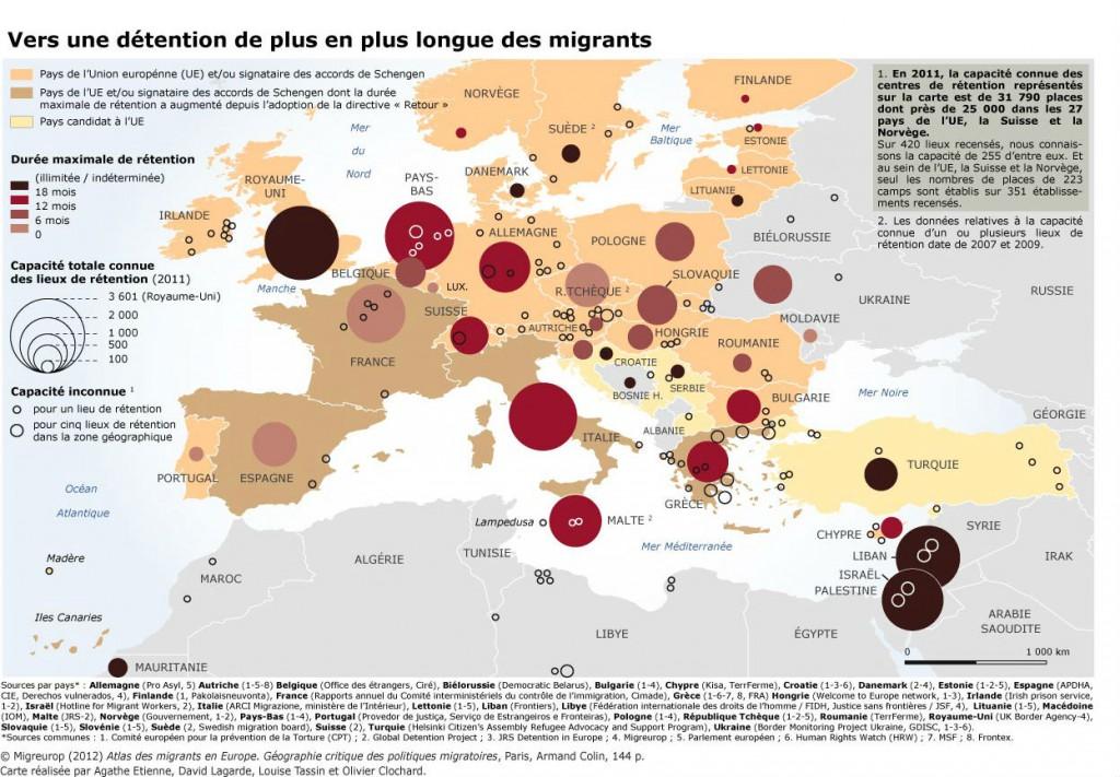 Vers une détention de plus en plus longue des migrants