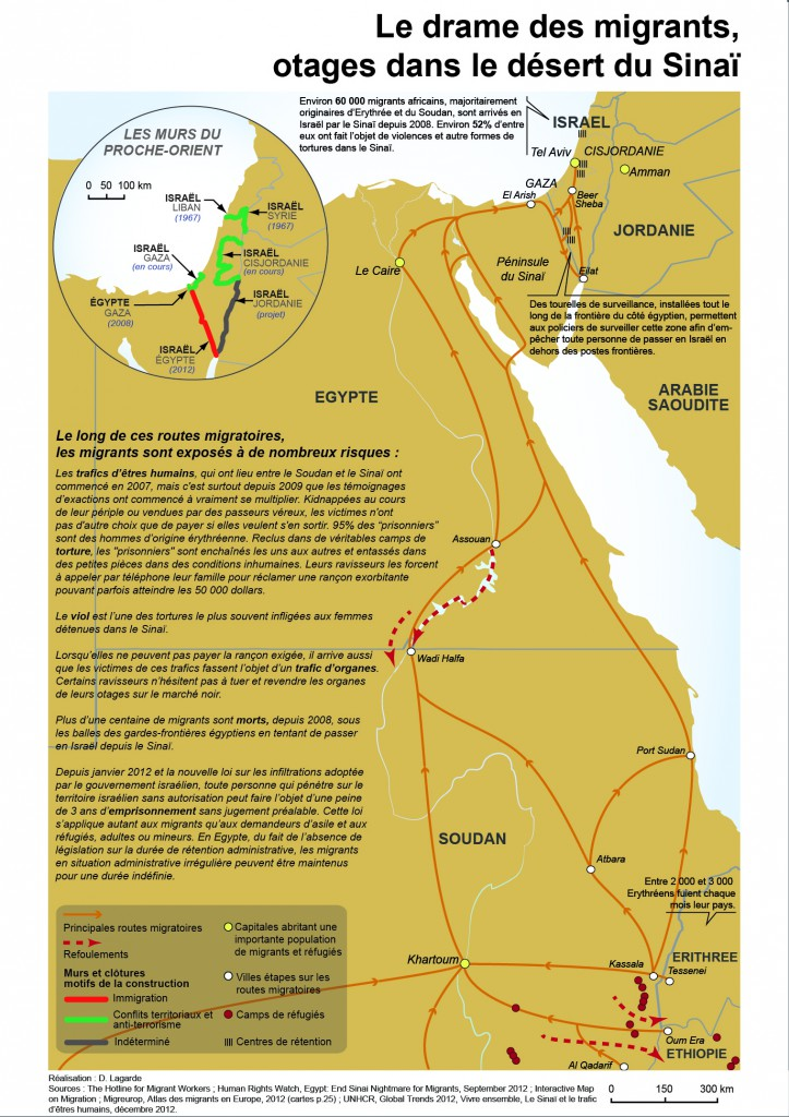 Le drame des migrants otages dans le désert du Sinaï