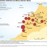 Rafles et détention arbitraire au Maroc, février 2015